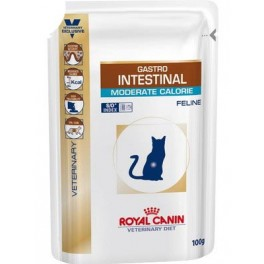 RC Gastro Intestinal Moderate Calorie Feline, 0.1 кг (пауч)