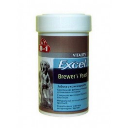 8 in 1 Excel Brewers Yeast with Garlic, 140 табл.